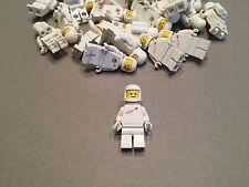 LEGO Vintage White Spaceman minifigure w/ Tank and Helmet Benny minifig Space