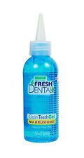 Fresh Dental Clean Teeth Gel Oral Care Dogs Cats Freshens Breath Remove Plaque