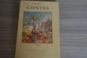 Andersen - Contes - Ouvrage illustré par Wighead chez Nilsson / Ref H40