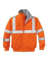2 Challenger Reflective Jackets Embroidered4Ur Construction Co. WHeavy Equipment