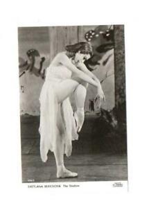 "SVETLANA BERIOSOVA, DANCING ""THE SHADOW"" BALLET, REAL PHOTO POSTCARD"