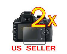 2x Nikon Digital SLR D3200 Camera LCD Screen Protector Cover Guard Shield F