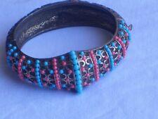 Vintage Turquoise & Coral color BRACELET Jewelry