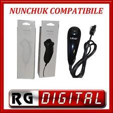 NUNCHUCK NERO COMPATIBILE CONTROLLER WII NUNCHUCK PER NINTENDO LINQ TYW-1124A