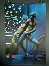 Neon Nude Painted Couple Blacklight, Ed Kadlec, Poster