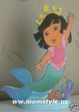 Dora Mermaid birthday party centerpiece decoration II