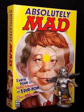 NEW GENUINE Absolutely MAD Magazine 50+ Years Collection: 600+ Issues on Disc