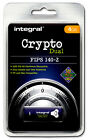 Crypto DUAL - FIPS 140-2 Encypted 4GB USB Flash Drive from Integral for PC & Mac