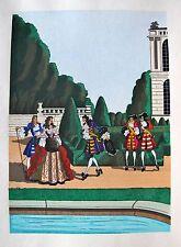 JEAN GRADASSI Memoirs of Cardinal Dubois 1950 Color Illustration ROYAL WELCOME
