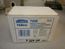 Broan Nutone 79W 4speed fan controller 1.5A 300W UPC 02671507891 (White) 748Q