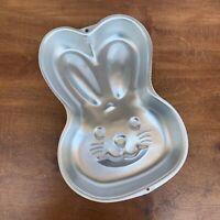 Wilton Bunny Cake Pan Easter Rabbit Face 2003 Cake Decorating Mold