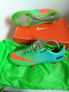 Nike Mercurial Vapor lX FG Pro Version size 8 football boots total crimson