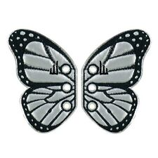 "Shwings ""SILVER BUTTERFLY"" Shoe Wings -Makes Old Shoes New, Makes New Shoes Fly!"
