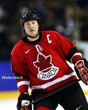 Winter Olympics Team Canada Captain Mario Lemieux 8 X 10 Photo Free Shipping