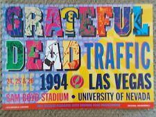 GRATEFUL DEAD TRAFFIC POSTER Las Vegas Sam Boyd BGP96 Orig Bill Graham E. BOUMAN
