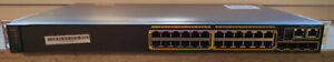 24 Port - Gigabit Switch - Cisco WS-C2960S-24TS-L - managed - geprüft - ok