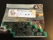 4x 256KB 30-Pin 3-Chip Parity 60ns Memory SIMMs 1MB Set RAM Apple SE Atari PC