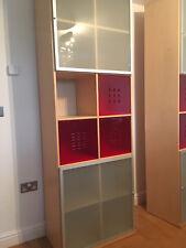 2 Large Ikea Storage Units with glass doors
