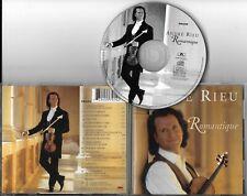 """CD PICTURE 16 TITRES ANDRE RIEU """"ROMANTIQUE"""" DE 1998"""