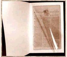 "MEDIUM-Sized $9 Acid-Free Folder for a TIMHU Newspaper - Approx 18-20"" x 12-13"""