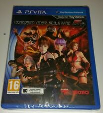 Dead or Alive 5 Plus NEW & SEALED Sony PlayStation Vita PS Vita PSV UK PAL DOA5