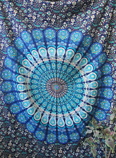 Psychedelic Twin Wall Hanging Indian Mandala Tapestry Gypsy Bedspread Throw