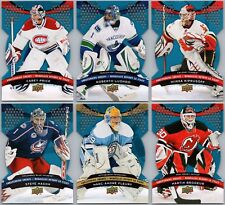 2009-10 MCDONALD'S UD GOALTENDING GREATS INSERT CARDS  - PICK SINGLES FINISH SET