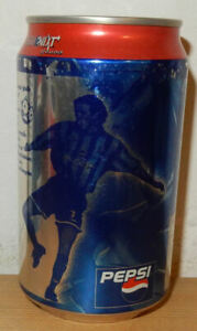 PEPSI COLA 1998 Soccer Player can from THAILAND (325ml)