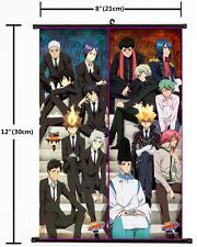 Japanese Anime HITMAN REBORN Home Decor Poster Wall Scroll 2028