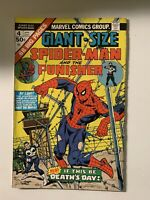 GIANT-SIZE SPIDER-MAN #4! -8.0 VF Condition- 3rd Punisher! 1st Moses Magnum