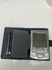 Palm One Tungsten E2 Organizer Palm Pilot With Case Pre Owned Untested