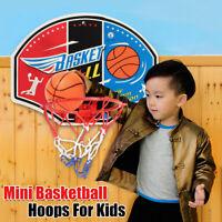 Kid Mini Indoor Basketball Hoop Set Over Door the Basket Ball Backboard Game UK