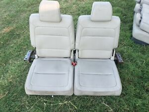 2009 2010 2011 2012 FORD FLEX REAR 2rd & 3rd ROW SEATS OEM leather