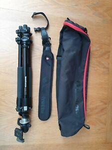 Manfrotto 190xprob tripod w/ 496RC2 head & Accessories