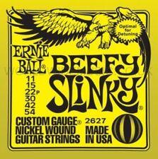 ERNIE Ball 2627 Beefy SLINKY NICHEL ARROTOLATE guitar Strings