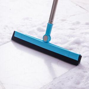 Floor Tile Squeegee Brush Broom Car Window Shower Cleaner Mop Handle Length 93CM