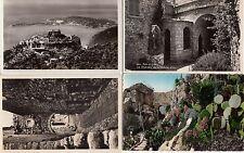 Lot 4 cartes postales anciennes EZE le village