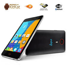 NEW!!! GSM (Factory Unlocked) 5.5-inch Android 4.4 KitKat 3G Smartphone White