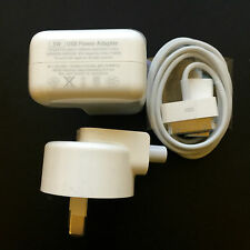 GENUINE Apple iphone 4 / 4S / 3GS charger + Cable