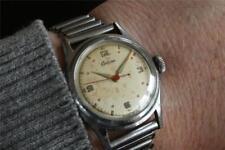 Superb vintage CERTINA BIG CROWN watch 17 j  serviced CA 1947 kf 404