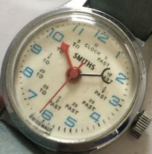 Rare Smiths 1960's mechanical Wind wristwatch - Child's Training Watch To Past