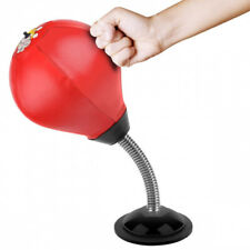 (Red) - Cyrus Desktop Punching Bag Stress Buster Ball Stress Relief Toys with