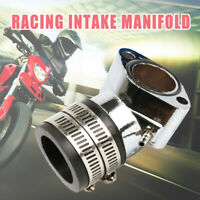 Aluminum Racing Intake Manifold For GY6 125/150cc Engine Scooter ATV Go Kart USA