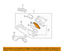 NISSAN OEM Engine-Air Cleaner Filter Element 16546ED000