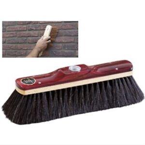 BRICKLAYERS Horse Hair BROOM HEAD BRUSH Quality Lightweight Masons Brush
