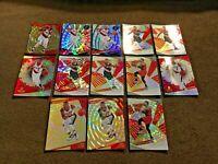 13 Card Damian Lillard and CJ McCollum Revolution Lot Cosmic Sunburst Nova Astro