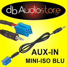 Cavo adattatore Aux In Out adapter LANCIA Y per lettore mp3 ipod