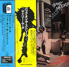 GARY MOORE BACK ON THE STREETS CD MINI LP OBI Skid Row Thin Lizzy Colosseum II