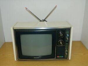 SONY TRINITRON TV: Model KV-1310E, Portable-Farb-TV, Vintage TV 1972/73