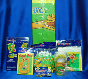 CATDOG  PARTY Set # 7 CATDOG Cups Tablecover Loot Bags Decoration Confetti